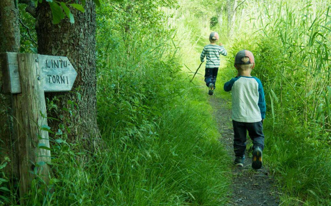 Unajan lintutorni – opintojen tauolla tulentekoa ja ensiaputaitoja